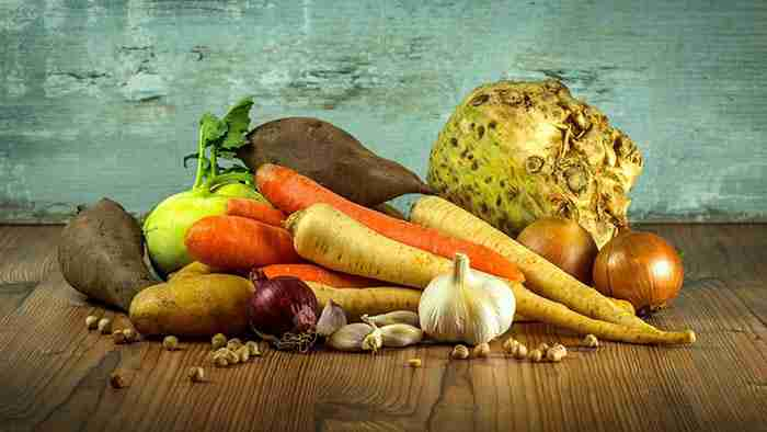 potatoes and other root vegetables