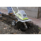 Battery Powered Cultivator: Earthwise TC70040