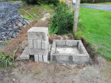 How To Build A Concrete Block Pillar